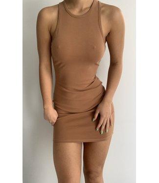 Seek The Label Asymetrical Basic Mini Dress