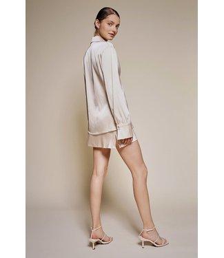 Seek The Label Satin Mini Skirt