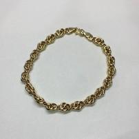 Quality Gold Leslie's 10K Polished Fancy Link Bracelet