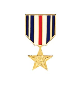 FWAM Silver Star Hat Pin