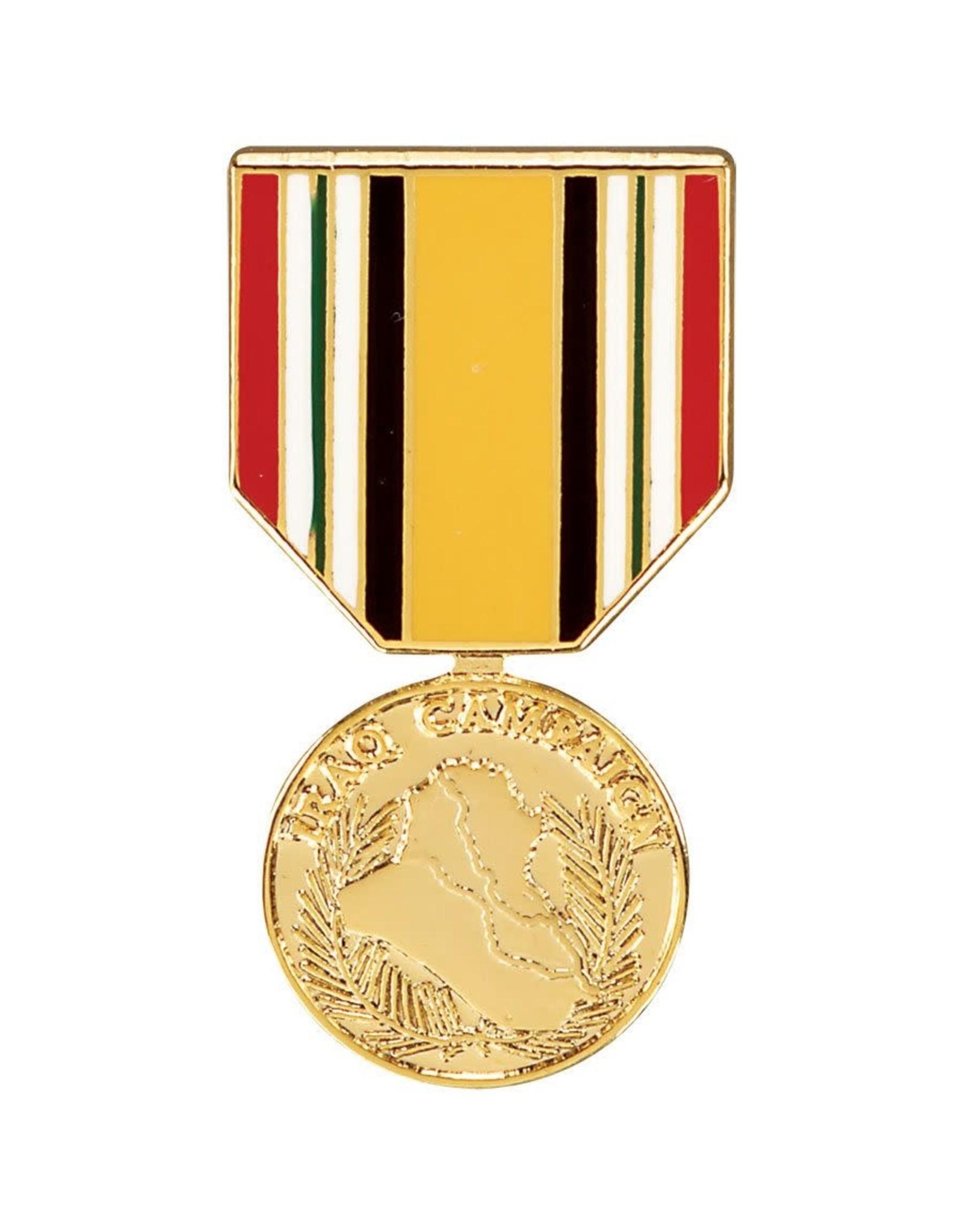 Iraq Campaign Hat Pin
