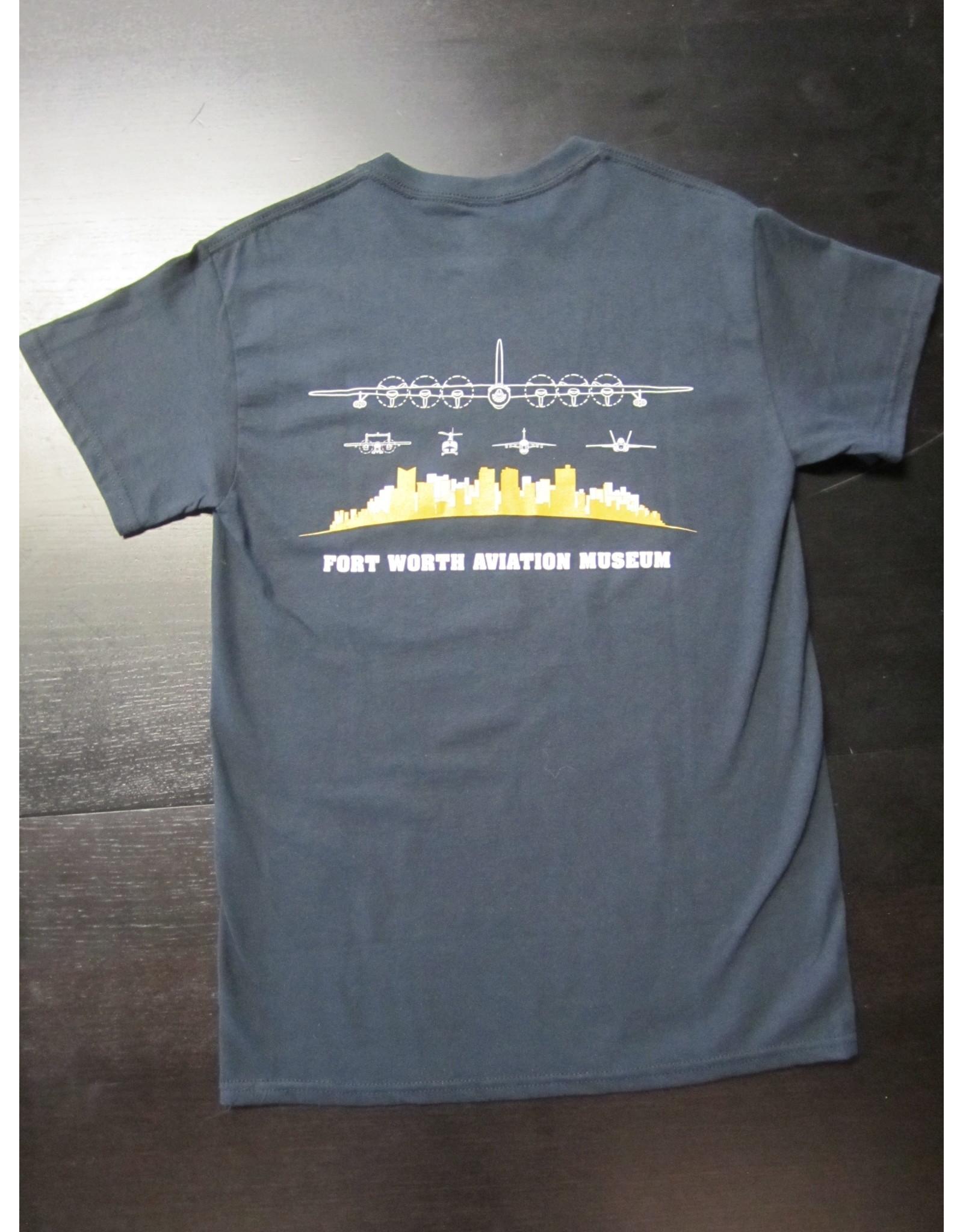 Gildan Skyline T-shirt Men Screen Print