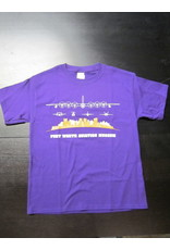 Skyline T-shirt Purple - Kids