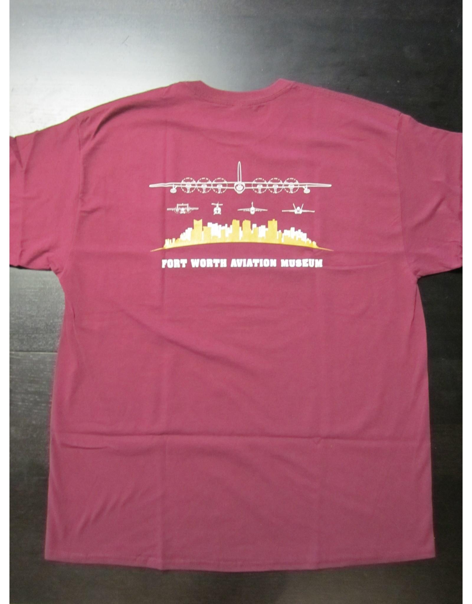FWAM T-shirt Adult Maroon