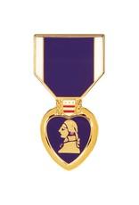 Purple Heart Hat Pin