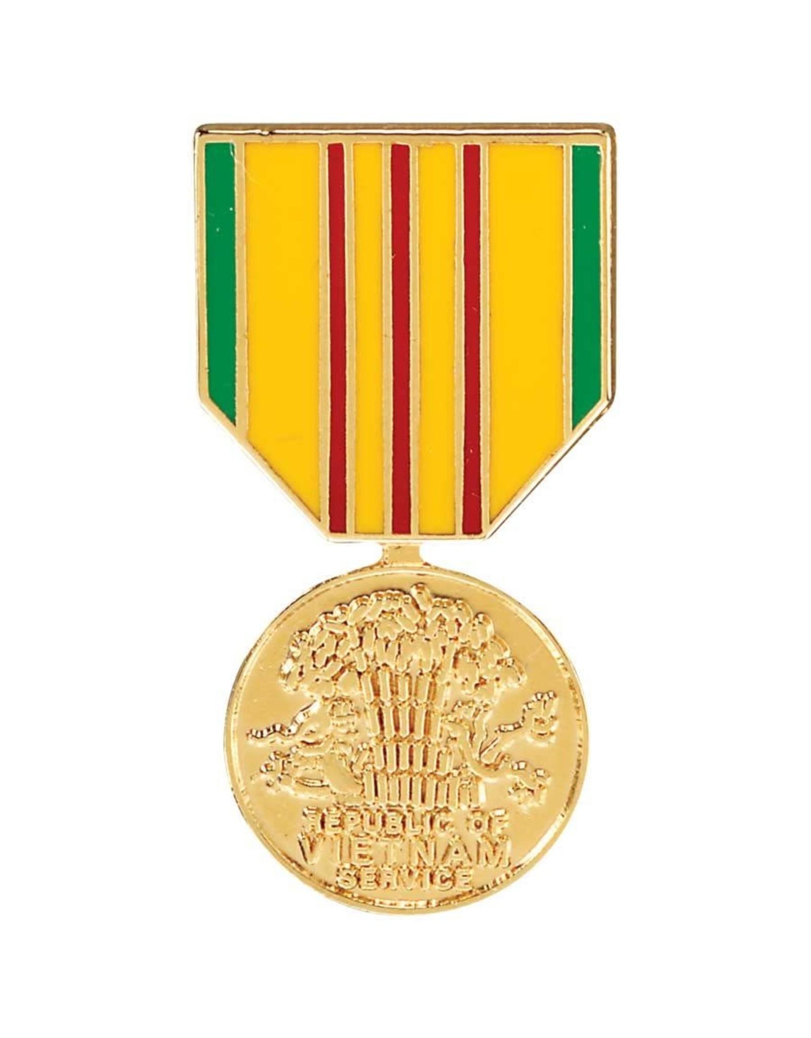 Vietnam Service Medal Hat Pin
