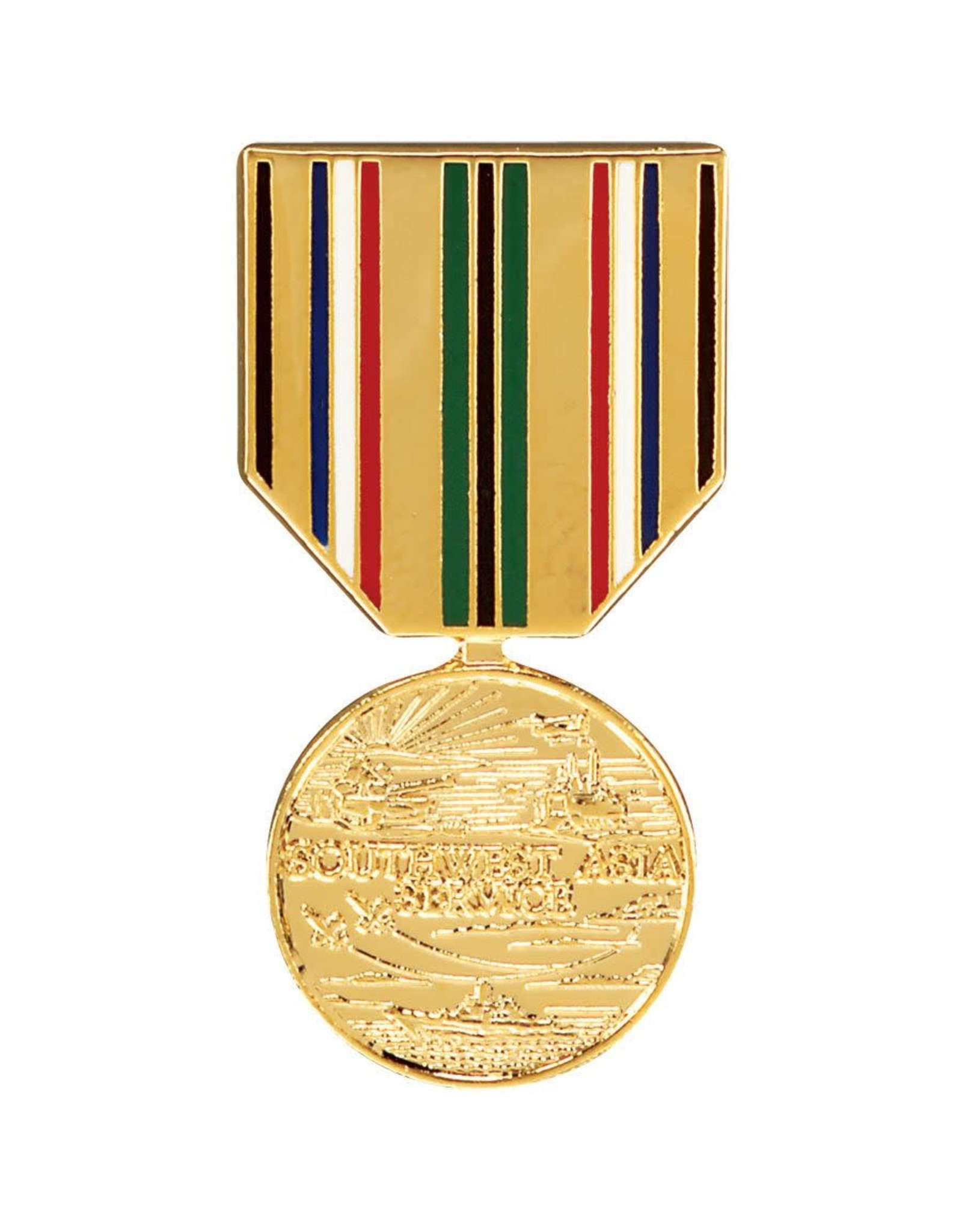 Southwest Asia Service Medal Hat Pin