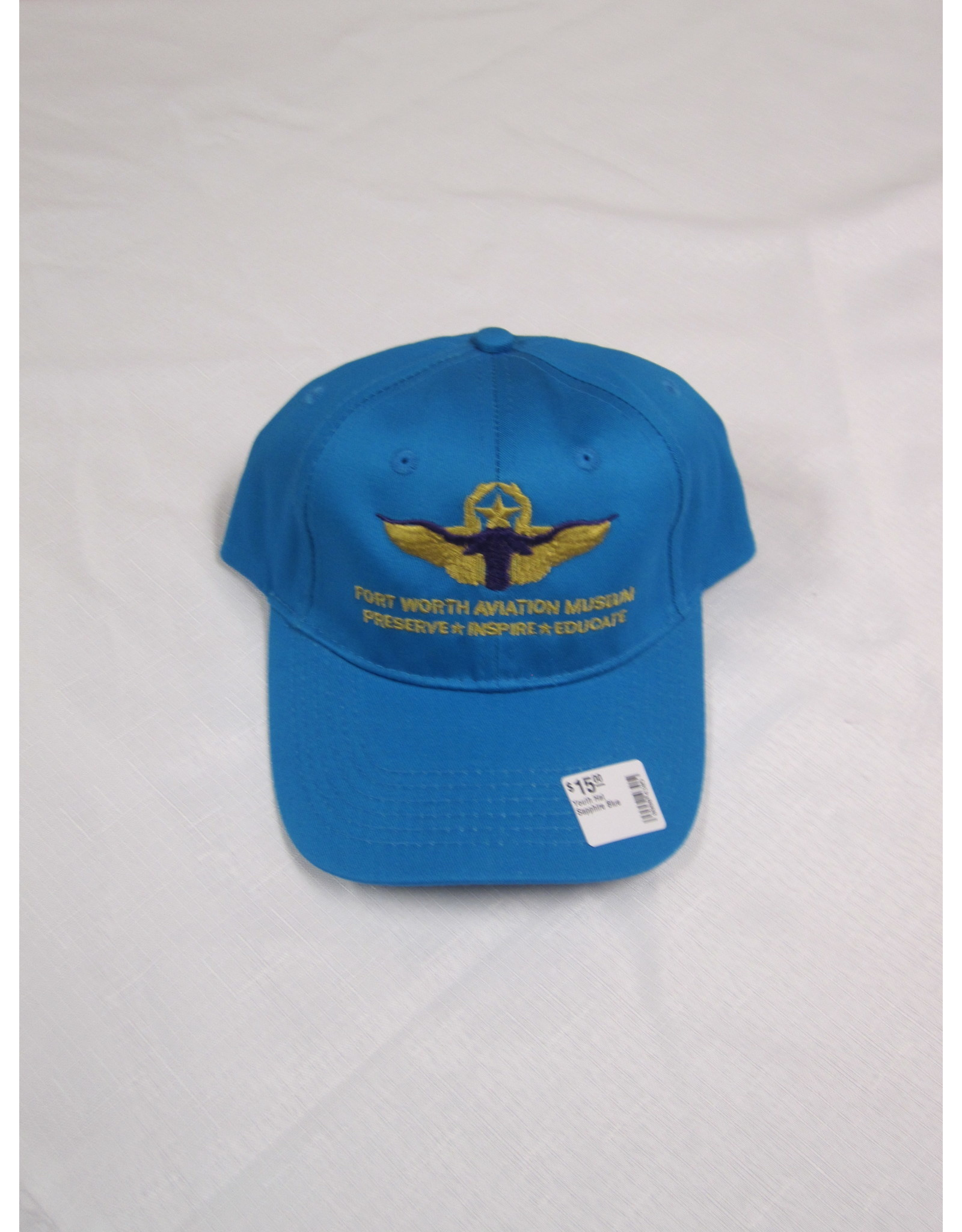 Youth Hat Sapphire Blue