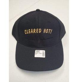 Cleared Hot! Black O-2 Black Hat