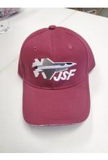 JSF Maroon Hat
