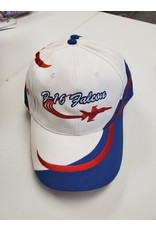 F-16 Falcon White and Blue Hat