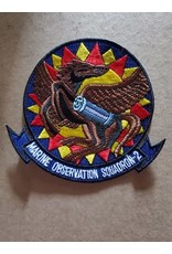 FWAM Marine Observation Squadron-2 Red and Yellow (1), patch