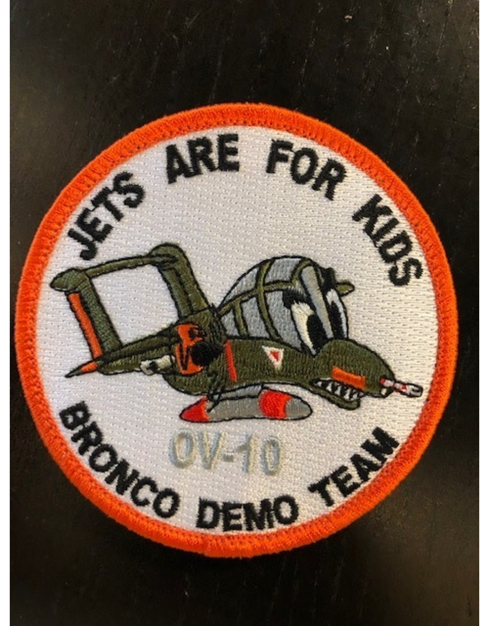 Bronco Demo Team Jets Are For Kids OV-10, patch