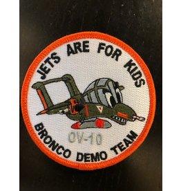 Bronco Demo Team Jets Are For Kids OV-10, patch