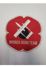 Bronco Demo Team Poppy Patch