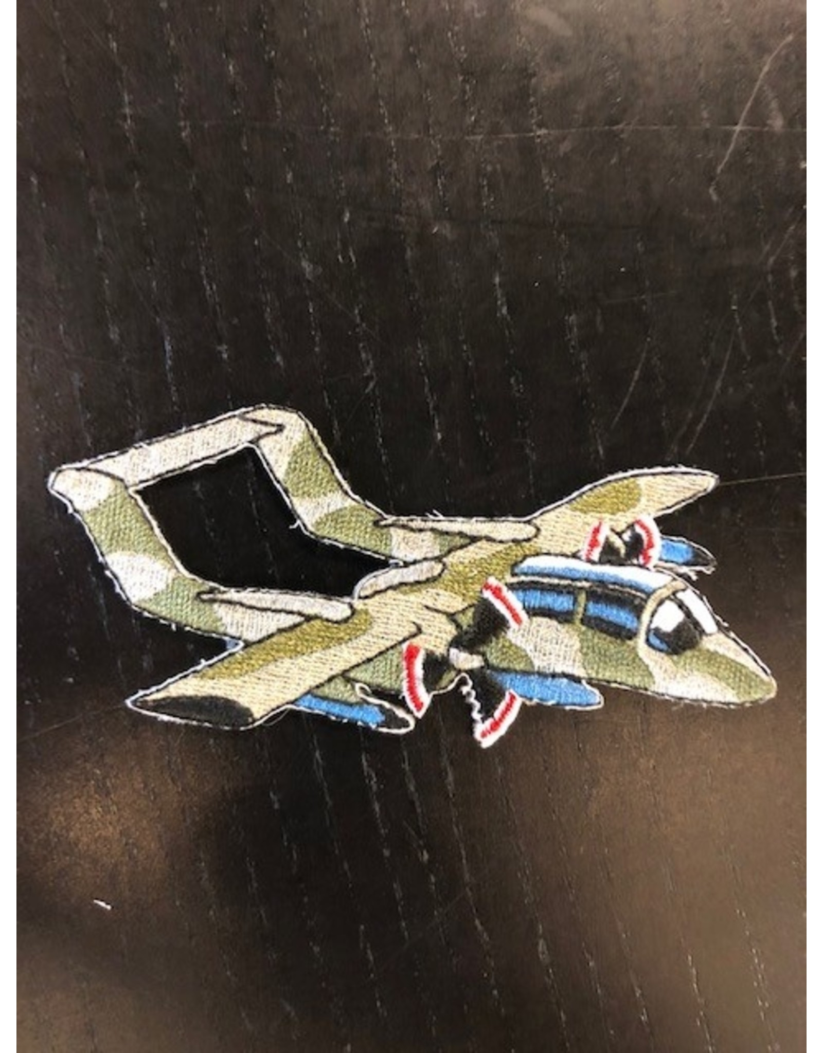 OV-10 Shaped - Dull Camo (8) Patch