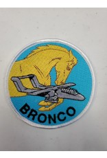 Bronco Silhouette (30) Patch