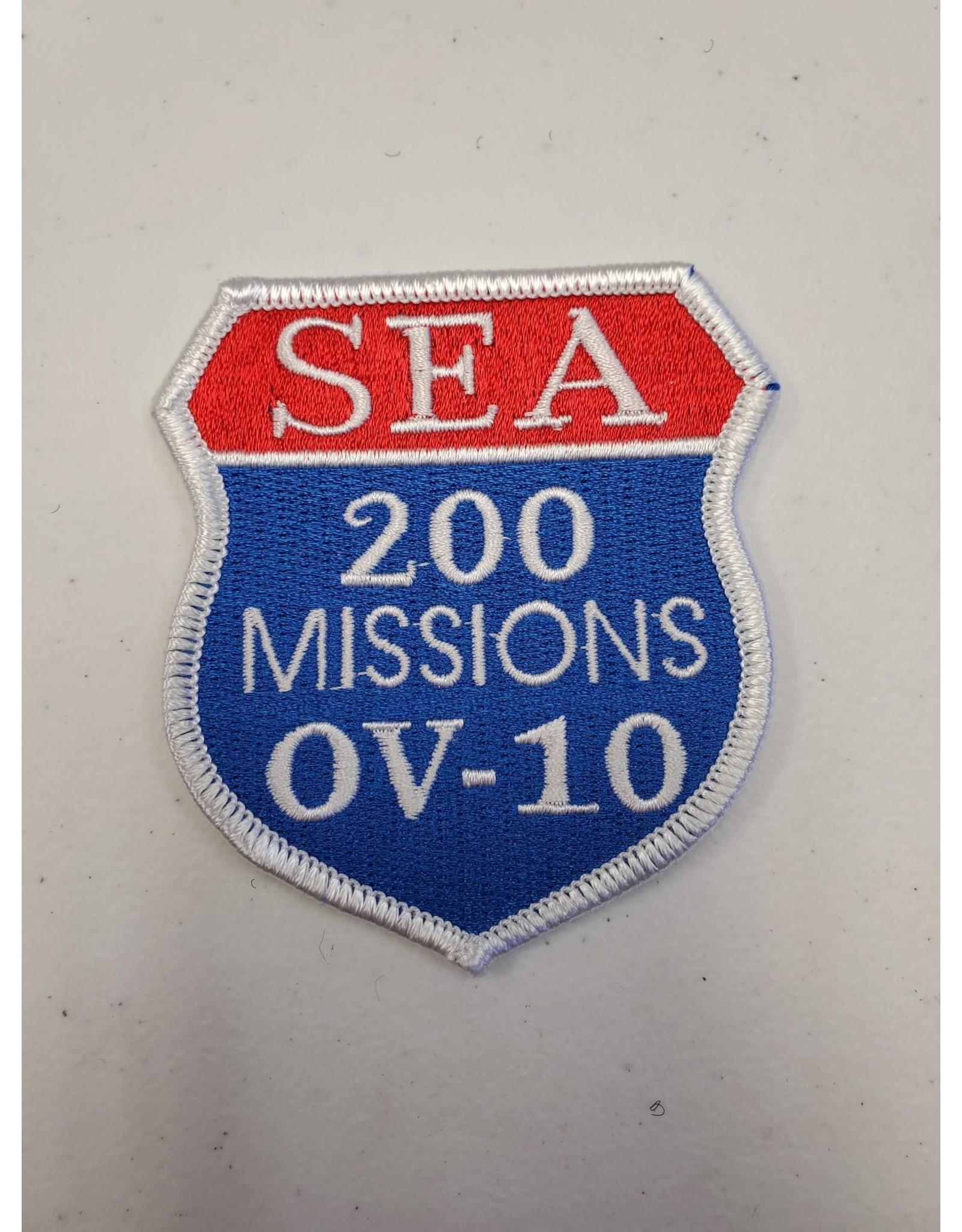 SEA 200 Missions OV-10 Patch