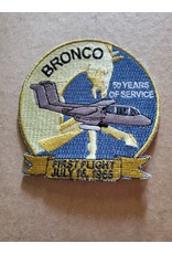 50th Anniversary Gray OV-10 Bronco patch