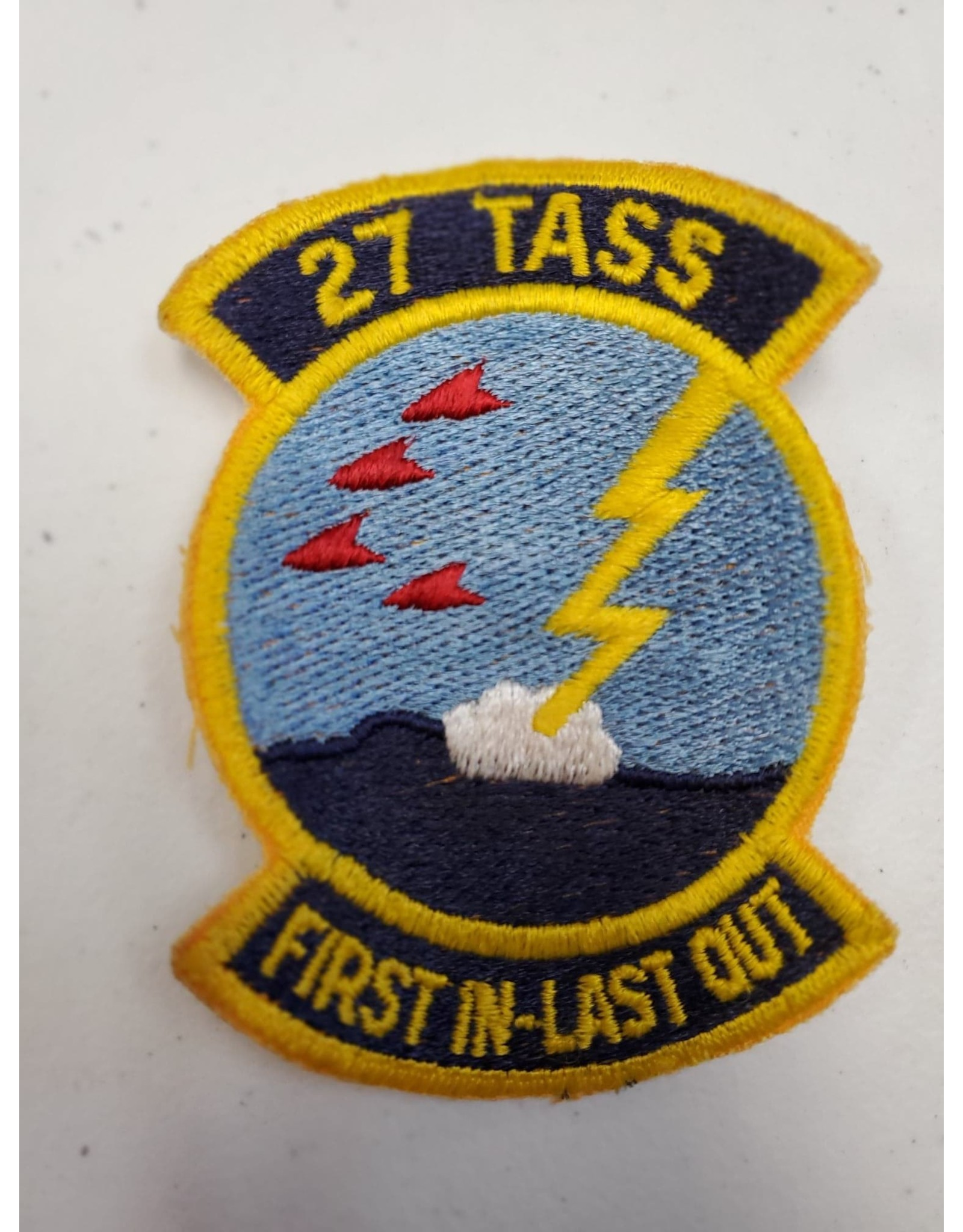27 Tass First In-Last Out Patch