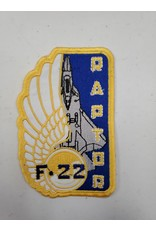 F-22 Raptor Rectangle Patch