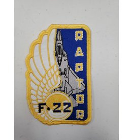 F-22 Raptor Rectangle Patch
