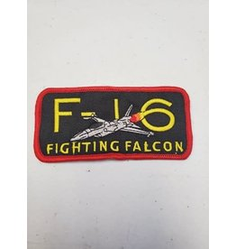 F-16 Fighting Falcon Rectangle patch