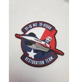 YF-16 #2 Restoration PVC Patch
