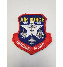 Air Force Demo Team Heritage Flight Patch