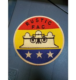 Rustic FAC Cambodian Flag Patch
