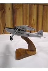 O-1 Bird Dog Wood Model