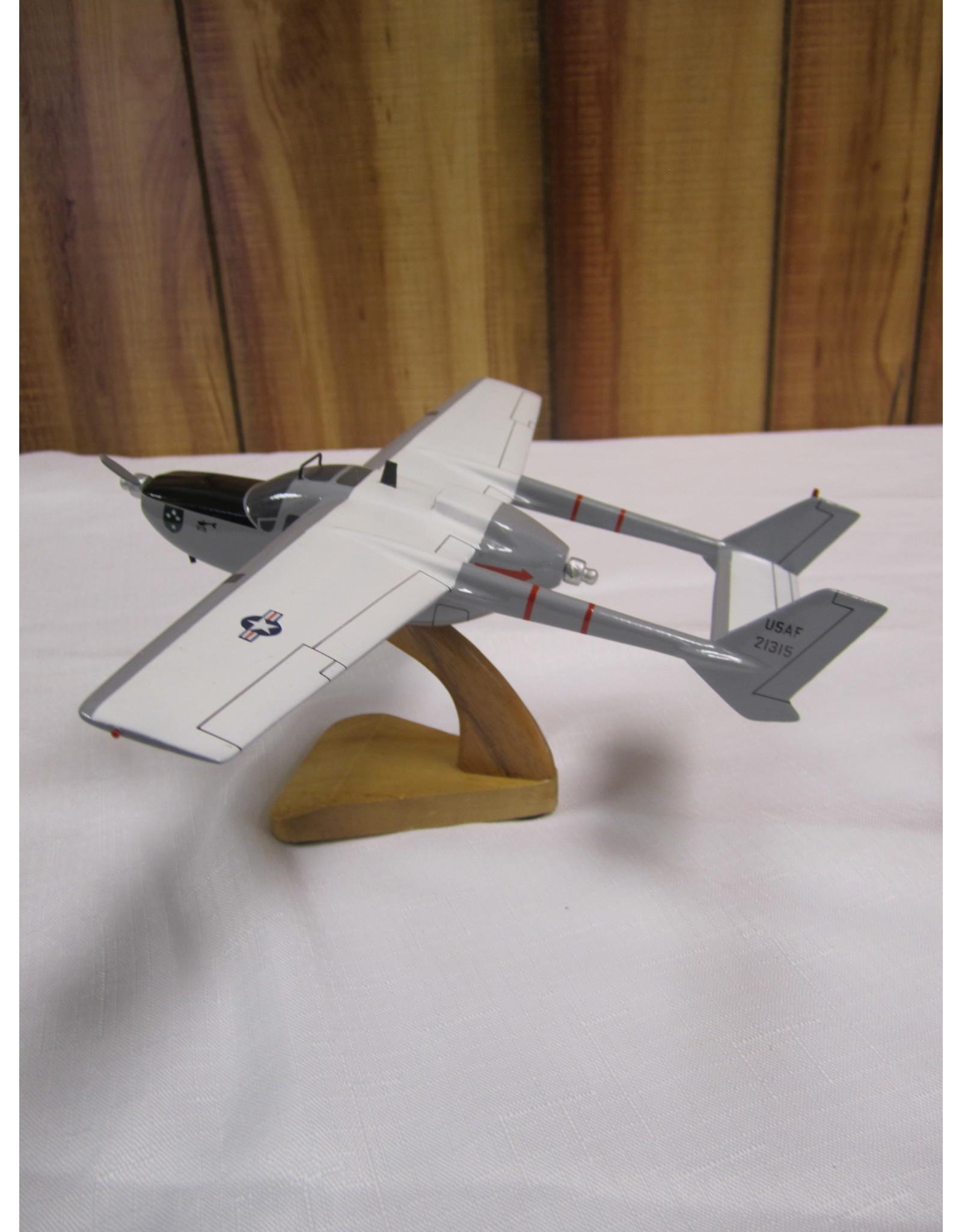 O-2 Skymaster Wood Model