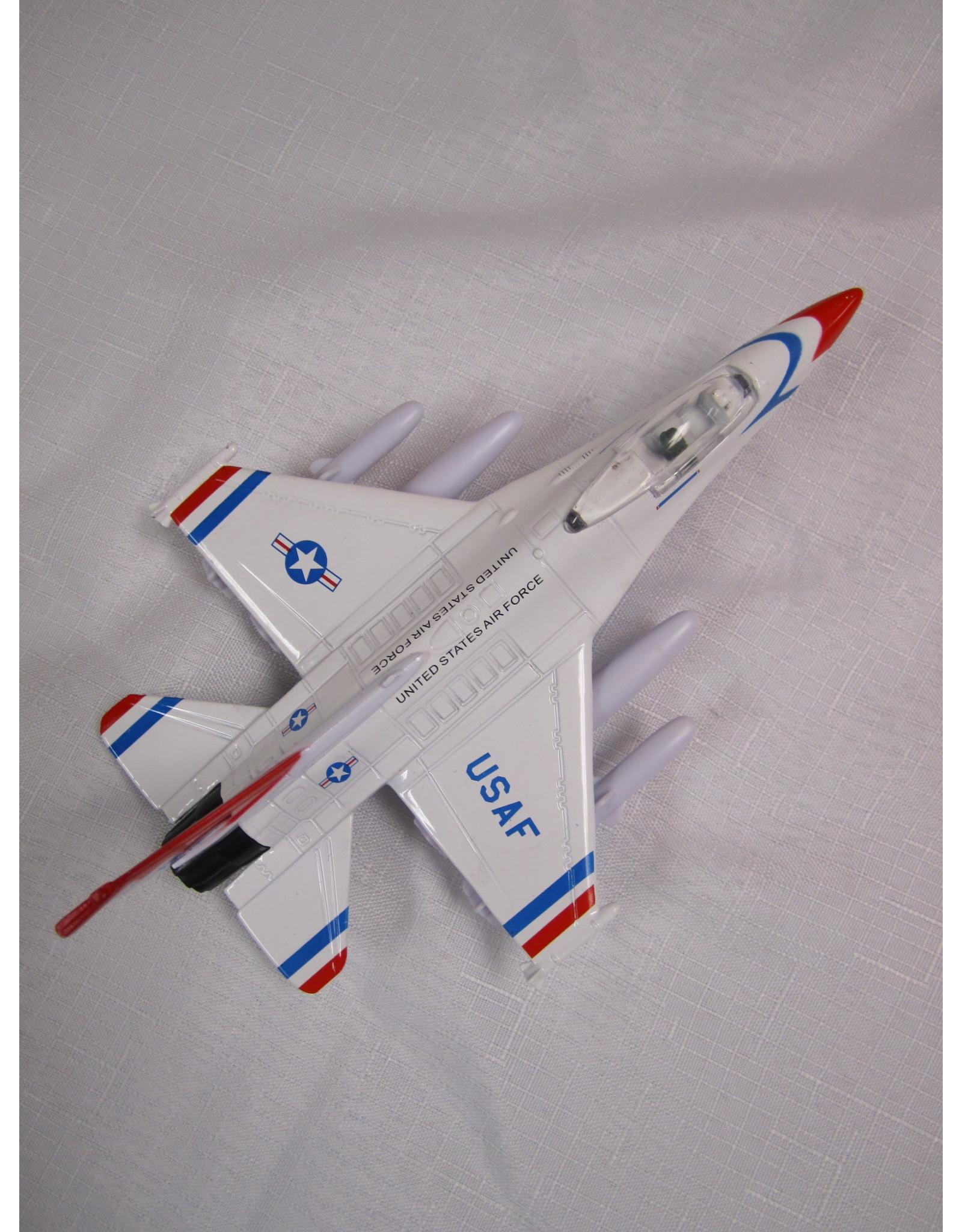 F-16 Fighting Falcon Thunderbirds Pullback
