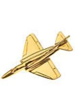 Clivedon Pin Badge A-4 Skyhawk, Pin, Gold