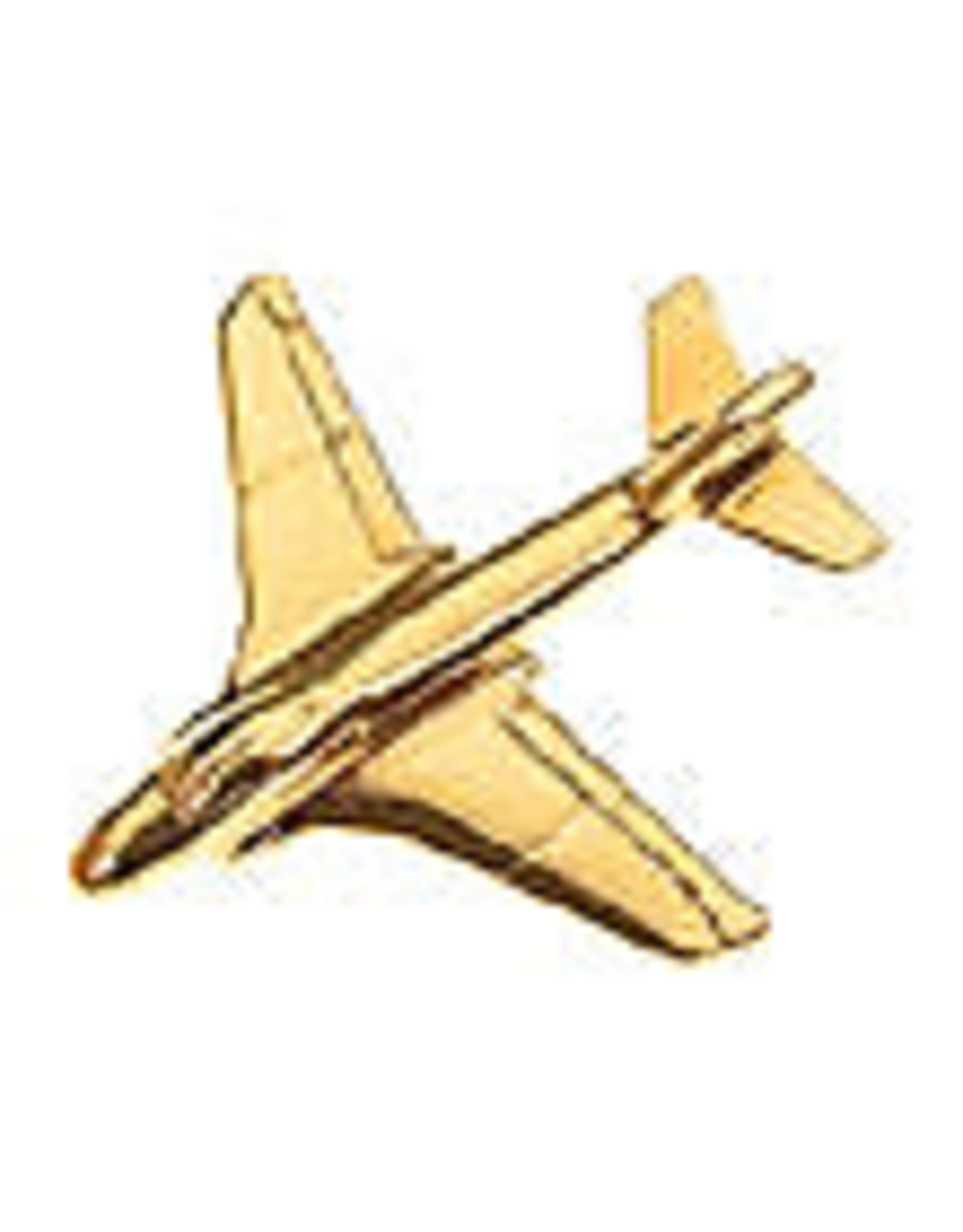 Clivedon Pin Badge A-6 Intruder, Pin, Gold