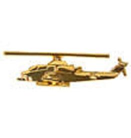 Clivedon Pin Badge AH-1 Cobra, Pin, Gold