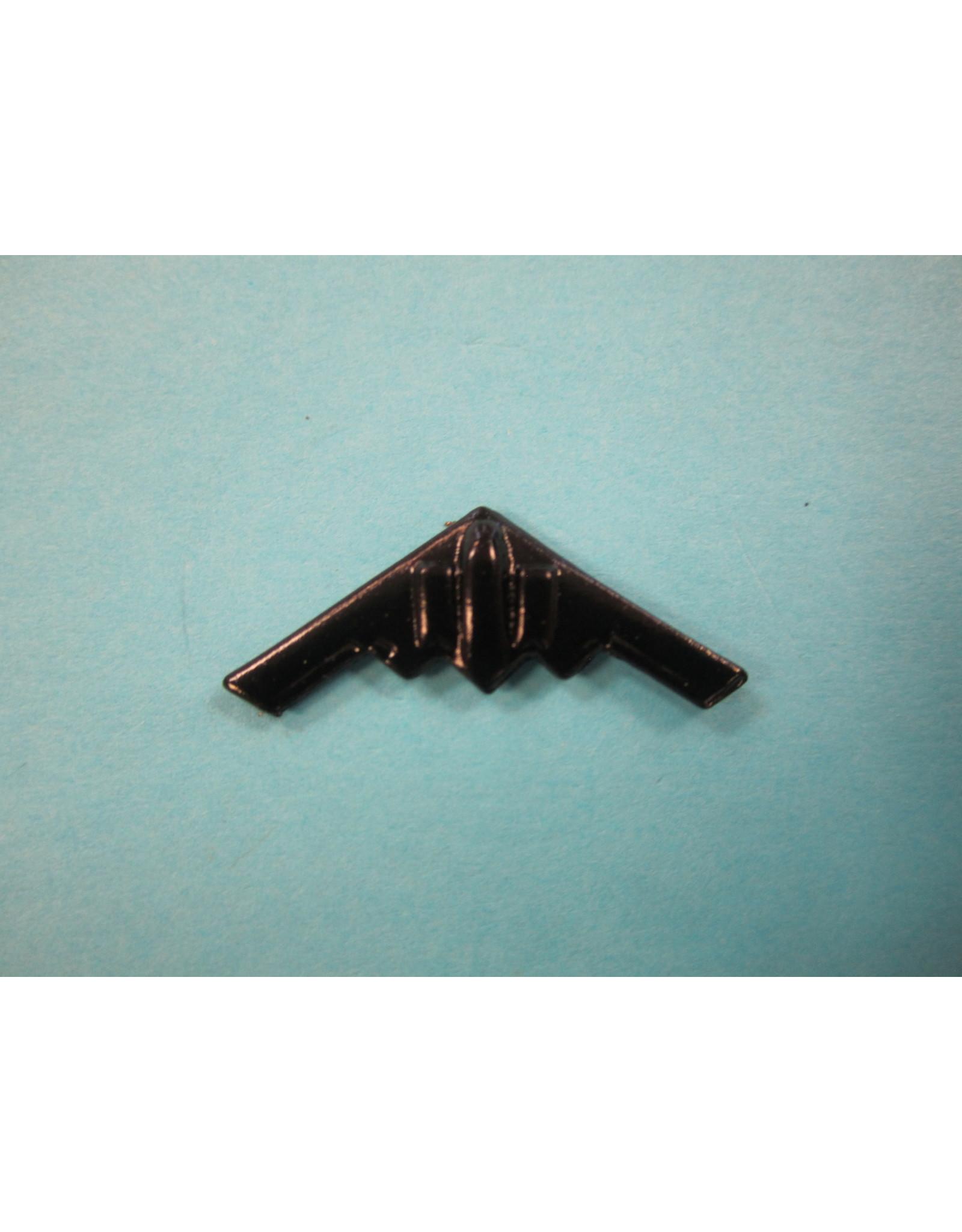 Clivedon Pin Badge B-2 Stealth Bomber, Pin, Black