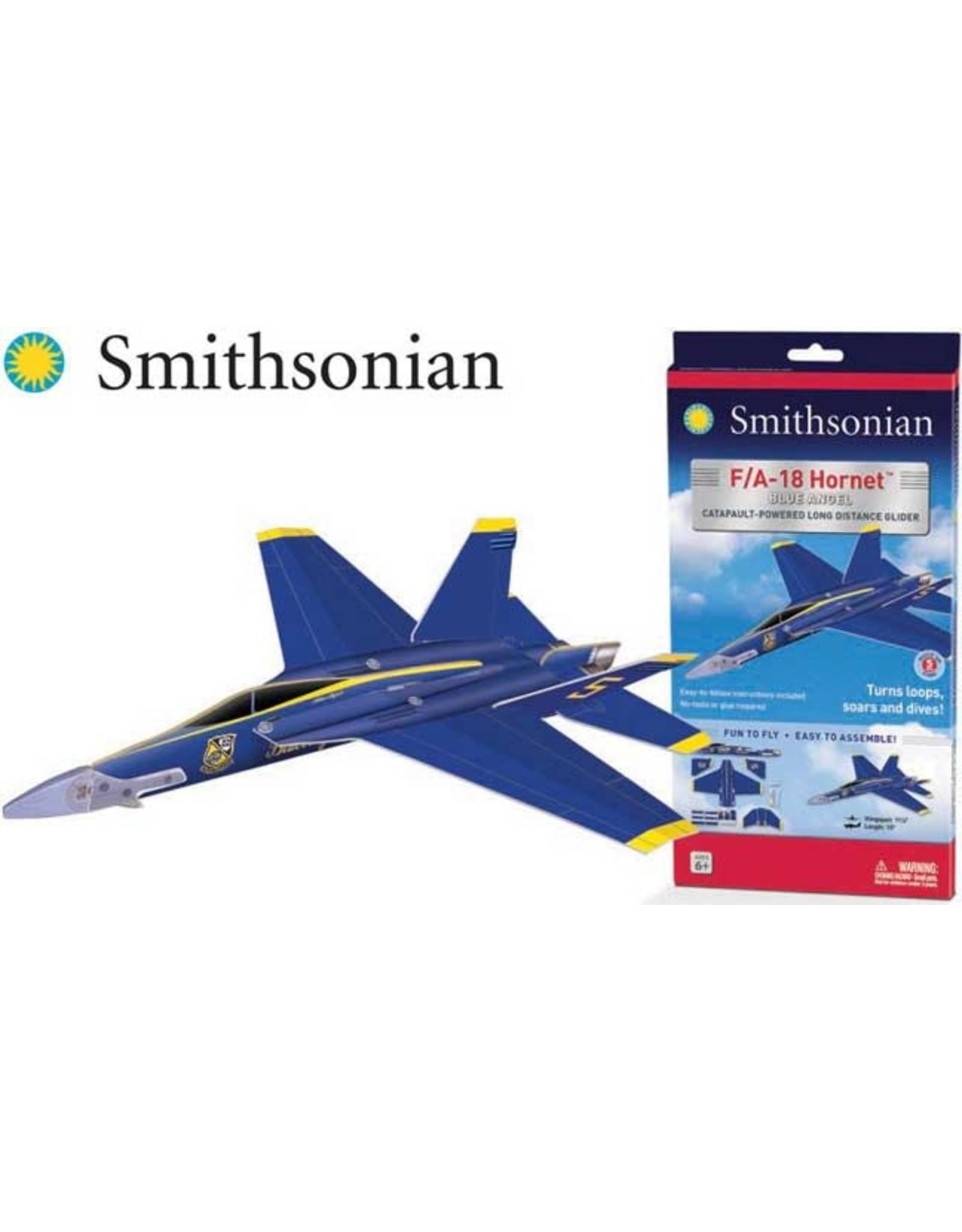 "Smithsonian F/A-18 Blue Angels Glider 11 1/2 """