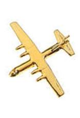 Clivedon Pin Badge C-130 Hercules, Pin, gold
