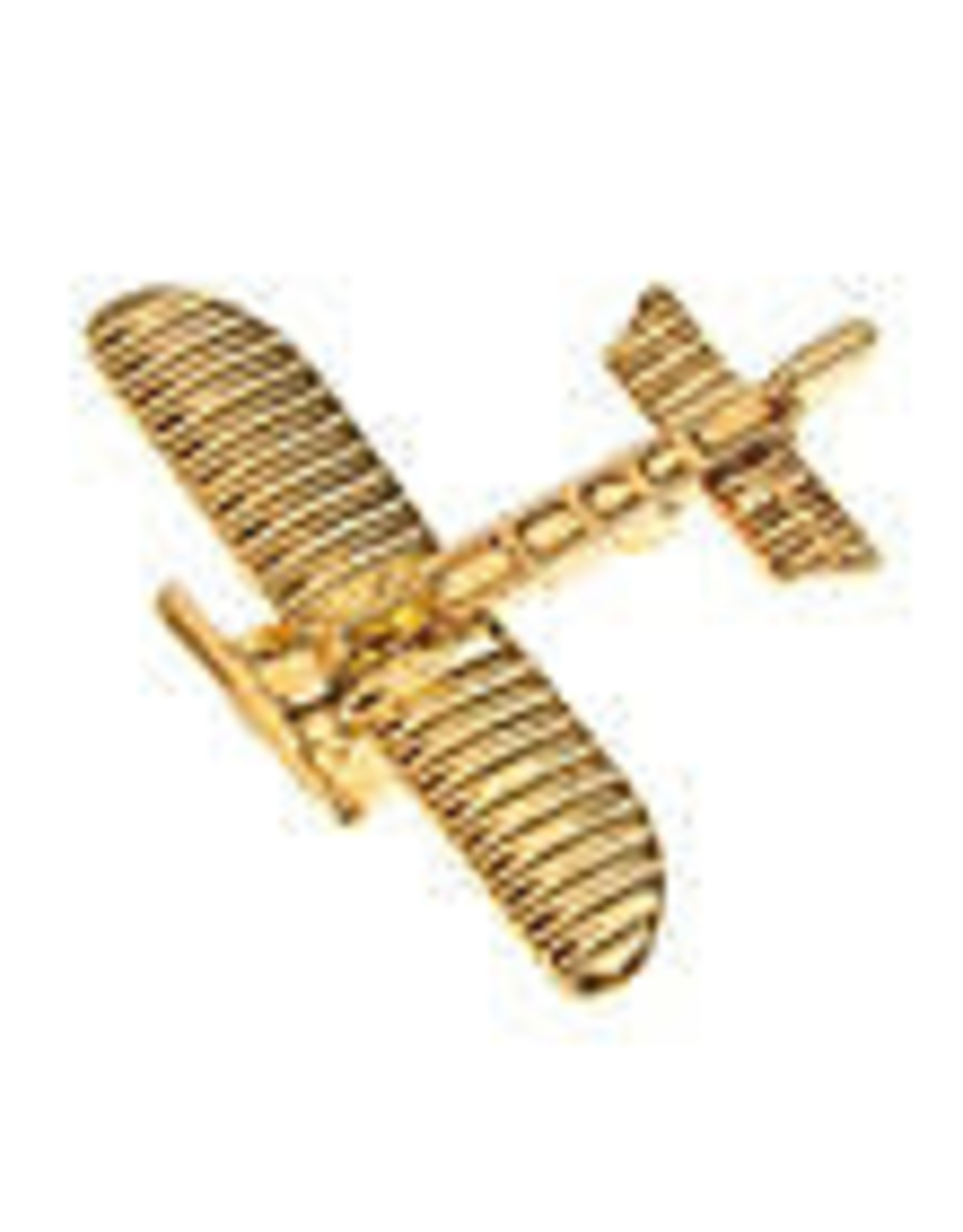 Clivedon Pin Badge Bleriot XI, Pin, gold