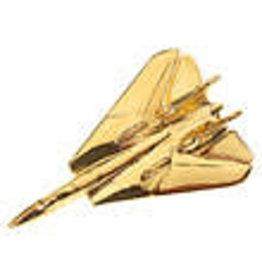 Clivedon Pin Badge F-14 Tomcat, Pin, gold