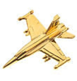 Clivedon Pin Badge FA-18 Hornet, Pin, gold