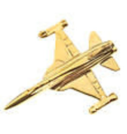 Clivedon Pin Badge F-5 Tiger II, Pin, gold