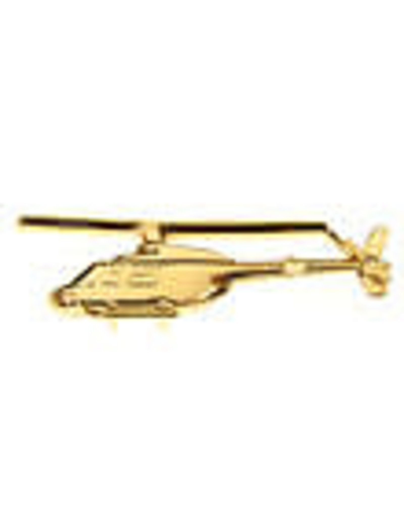 Clivedon Pin Badge OH-58 Kiowa, Pin, gold