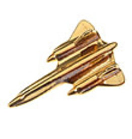Clivedon Pin Badge SR-71 Black Bird, Pin, gold