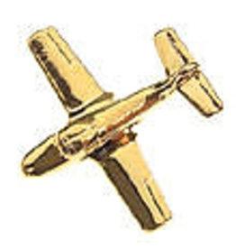 Clivedon Pin Badge T-37 Tweet, Pin, gold