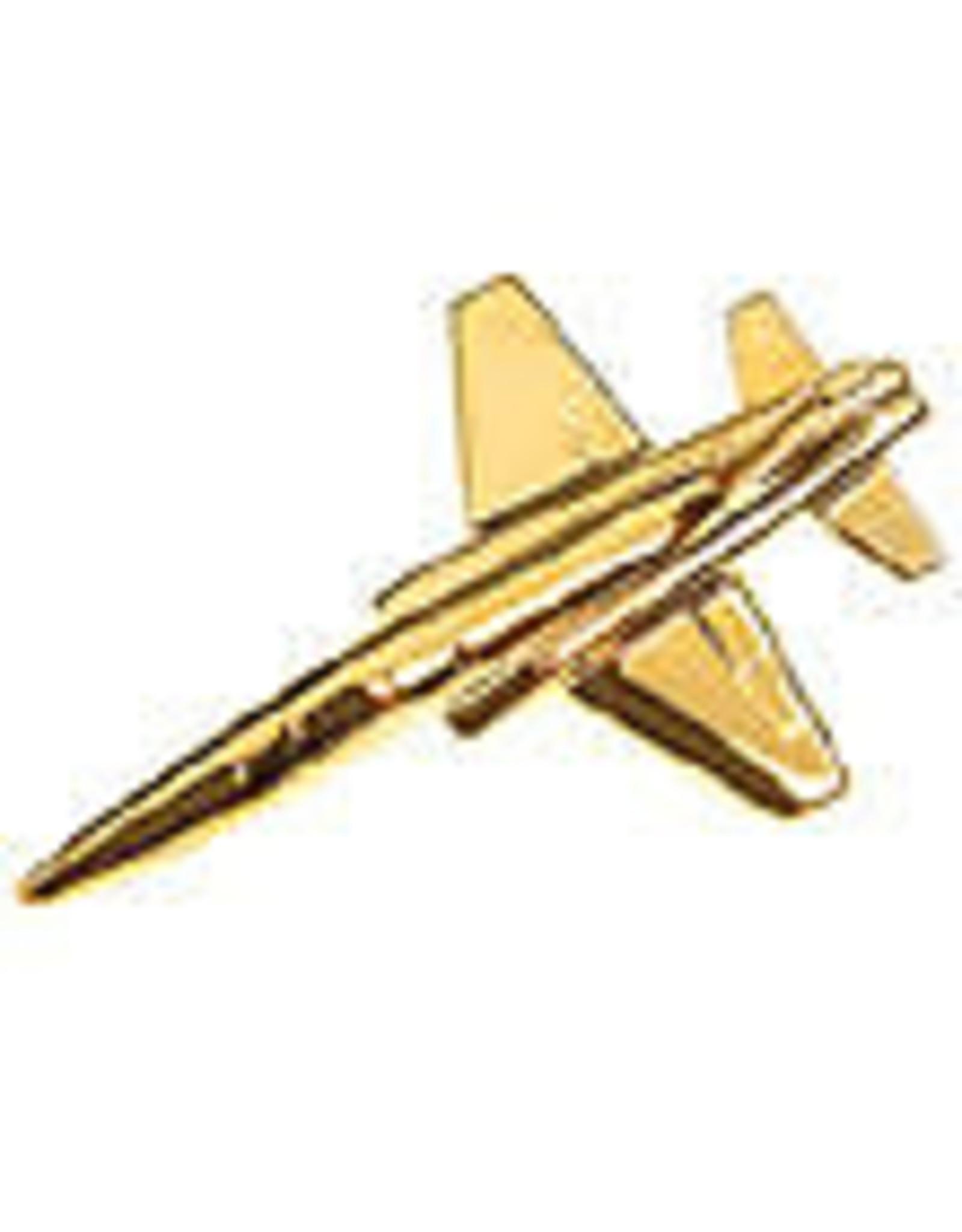 Clivedon Pin Badge T-38 Talon, Pin, gold