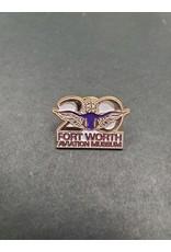 FWAM 20th Anniversary Fort Worth Aviation Museum Pin