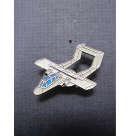 FWAM OV-10A USAF, Pin, gray and white