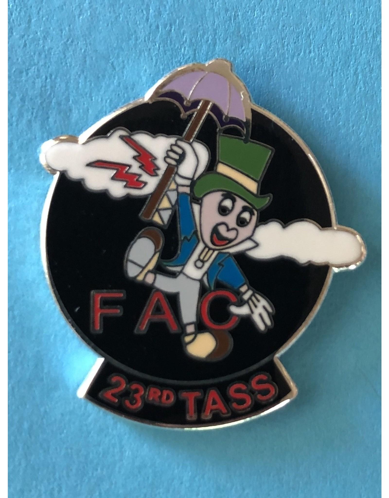 FAC Assoc USAF 23rd TASS FAC, Pin, night